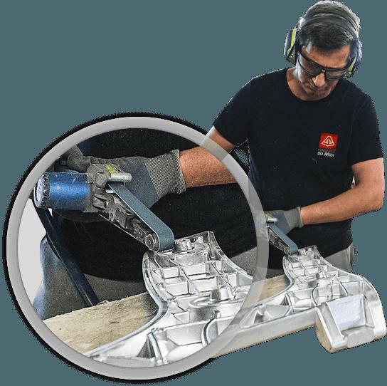 Fonderie Aluminium et magnesium Foderie du Midi Rhonalu